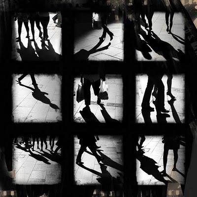 sleepless ink: Street Shadows, Dodgems Sign, Handy Store #shopping #shadows #pavement #street #walking