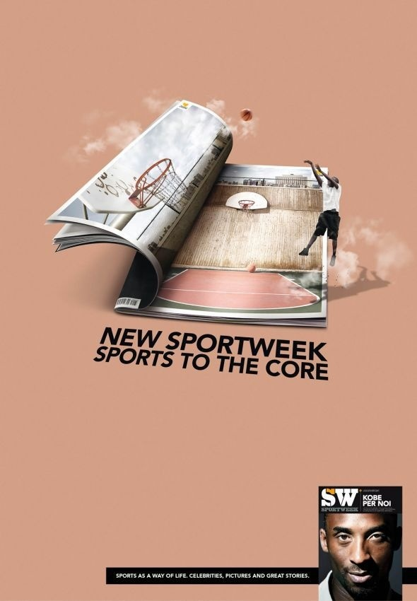 Sportweek magazine, La Gazzetta dello Sport: Basketball #print