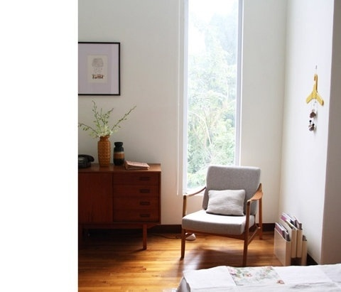 FFFFOUND! | Bloesem: A corner of my bedroom over at Bodie and Fou* #interior #furniture #design