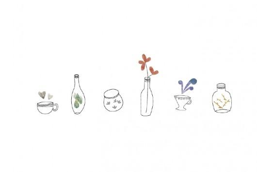 Esencias - Ana #illustration #collage #tea