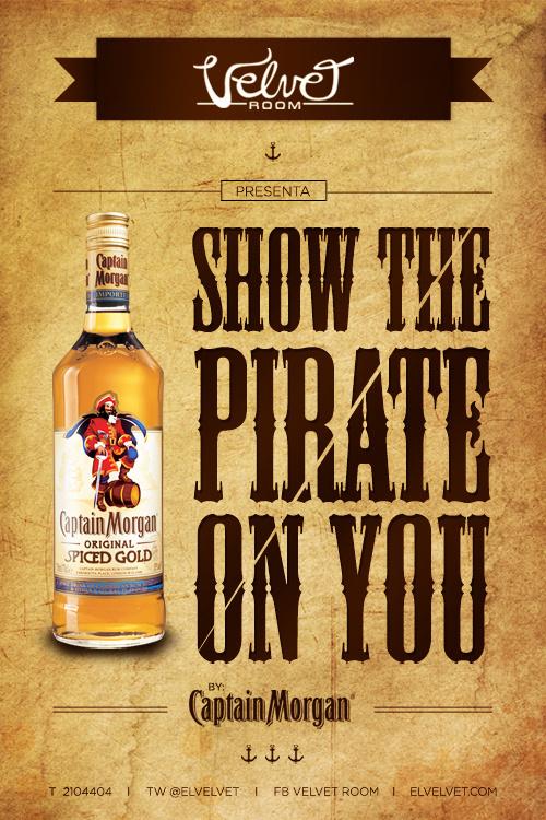 Pirates Flyer #flyer #design #captain #pirate