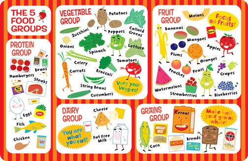 Food Groups on Behance #food