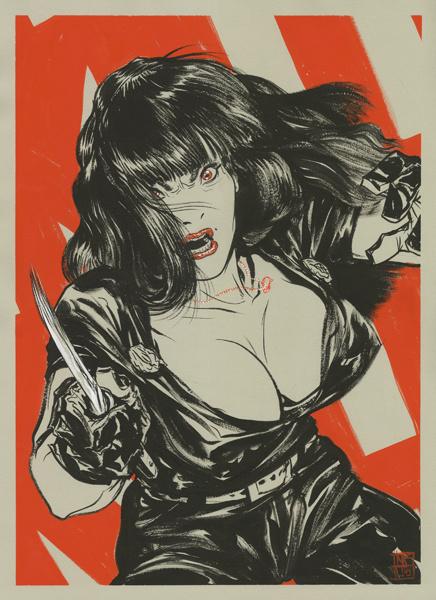 Prints, Issue , Page 1 - Cadence Comic Art: Original Comic Art #knife #girl