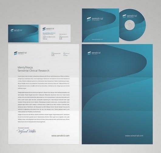 onestepcreative » Identity System for Sensitrial #stationary #business #branding #system #materials #identity