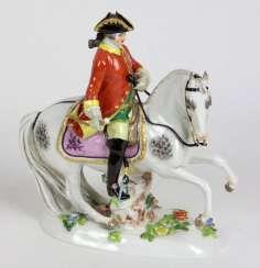 Meissen Equestrian Figure #porcelain