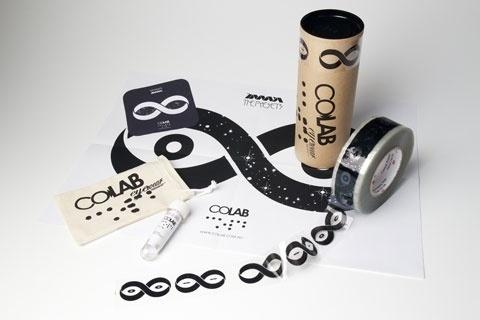 Colab Sunglasses « Jonathan Zawada #stickers #print #sunglasses #colab #shades #zawada