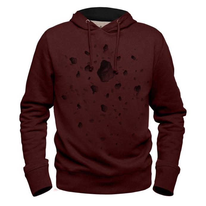 #meteor #claretred #hoodie #sweatshirt #kafka #meteorite #planet #surface #stone