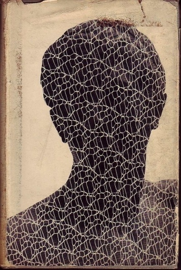 All sizes | julien gracq, a dark stranger, 1951, cover by Gertrude Huston | Flickr - Photo Sharing! #design #graphic #book #head #cover #face