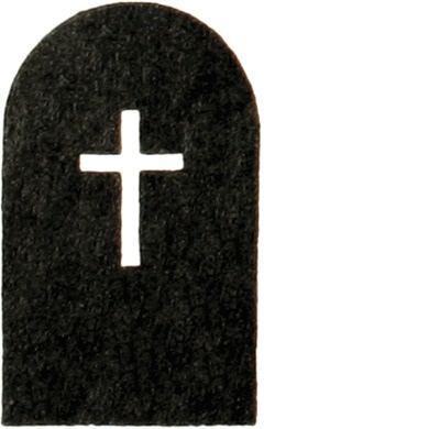 GMDH02_00586 #stone #cross #icon #grave #isotypes #gerd #death #arntz