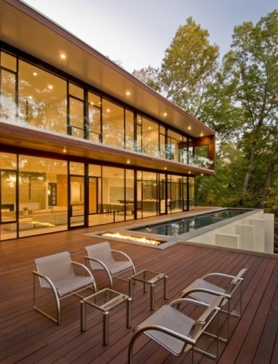 WANKEN - The Blog of Shelby White » Wissioming Residence #wood #architecture #pool