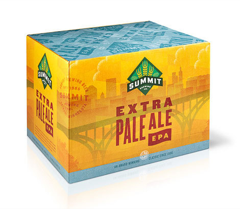 Summit Brewing Extra Pale Ale Case #packaging #beer