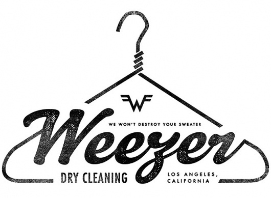 East Fork Studio / The Work of Sam Kaufman #music #logo #illustration #weezer