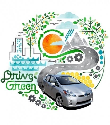 Matt Lehman Studio #automotive #advertising #illustration #eco #green