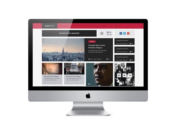 Indeksonline Web Portal & Magazine more about the project : http://www.behance.net/gallery/Indeksonline-Web-Portal-Magazine/8734779 #flat #kosovo #news #indeksonline #portal #interface #website #berin #webdesign #metro #quality #kosova #magazine #new