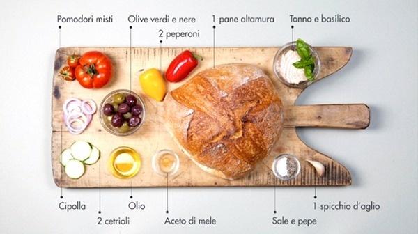 panzanella_ingredienti #ingredients #italian #recipe #food