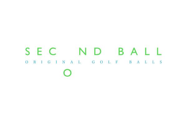 Second Ball on Behance #golf #cyan #second #fiore #original #identity #pantone #logo #balls #green