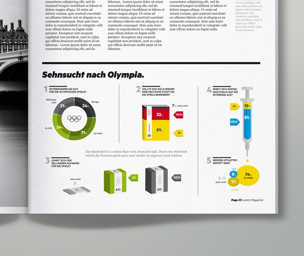 Magazine Infographics on the Behance Network #infographics #editorial
