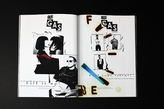 The gas theatre on the Behance Network #theatre #musical #advertising #identity #poster #magazine