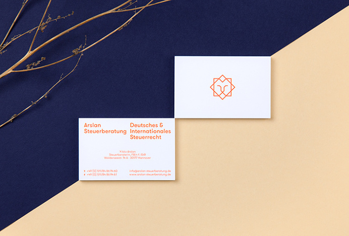 Arslan Steuerberatung by Bureau Hardy Seller #graphic design #print #business card