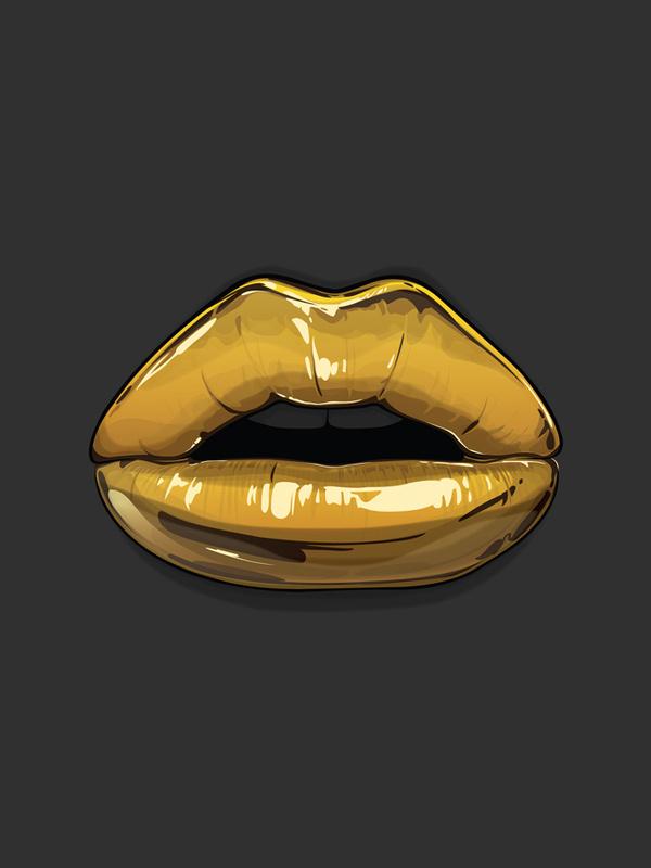 Goldie Gaks Designs #lips