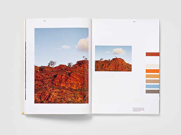 Using Australian Colour #theme #australia #book