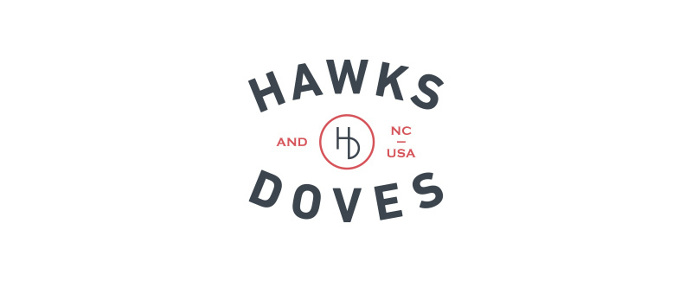 Hawks and Doves Logo, Goods, NC - Paul Tuorto