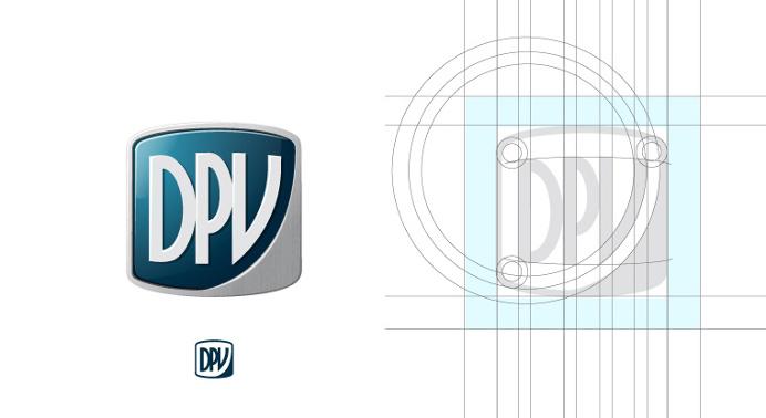 Logo design grid #logo #identity #grid #layout #brand #corporate identity #logotype