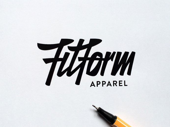30 Beautifully Hand Drawn Typography Logos by Paul Von Excite #type #typography #hand drawn #logo