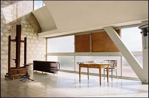 le corbusiers apartment and studio #corbusiers #interior #architecture #studio #le #apartment