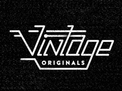 Dribbble - Vintage Originals by Matt Chase #type #lettering #logo