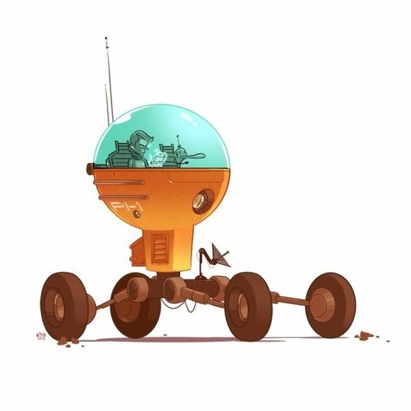 Character Illustrations by Ido Yehimovitz #arts #illustrations #inspirations