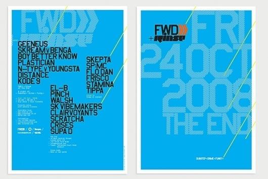 FWD >>: Give Up Art. #print #design #identity