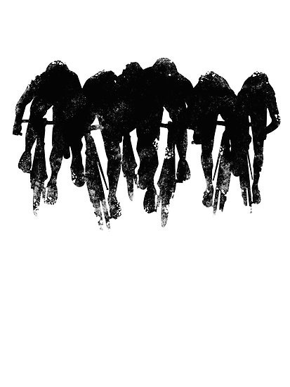 mtbdirty:More pics here #illustration #bicycle #race #ride