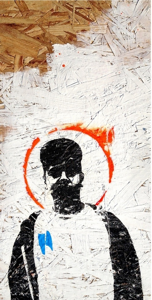 eyeone | seeking heaven #eyeone #white #graffiti #black #street #art #and #mixed #media
