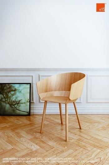 Pospelov 3D visualization #chair #design #e15 #product #houdini