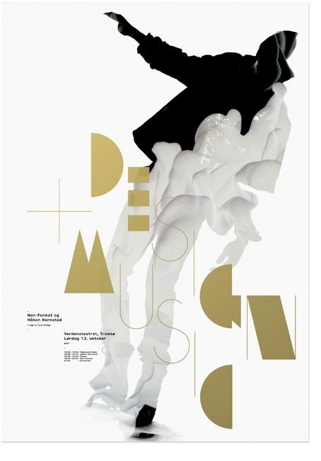 Non-Format - Design + Music #design #poster