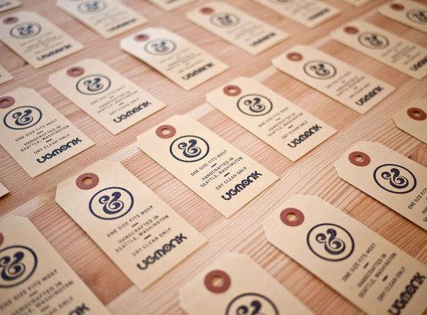 Ugmonk hang tags #stamp #ugmonk #hang #ampersand #tag
