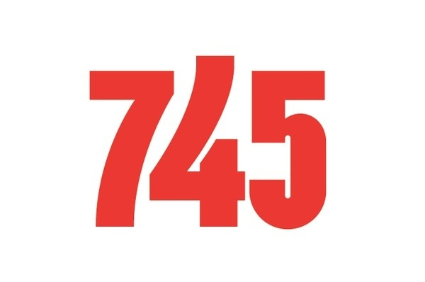 745 #numbers