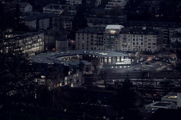 Lokremise St.Gallen Hollywood-Wand #alltag #stgallen #schweiz #agentur #lokremise