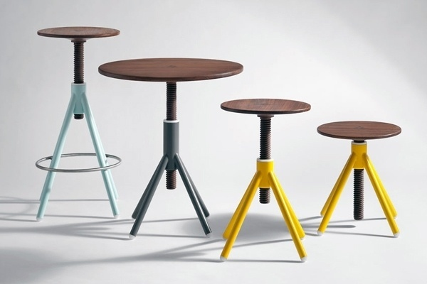 Thread Family - Table and Stool Series by Coordination Berlin » Yanko Design #industrial #design