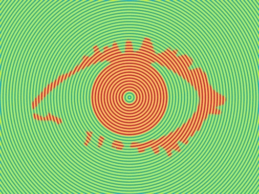 Big Brother 3 : Daniel Eatock #op #design #graphic #color #identity #art