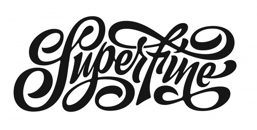 Typeverything.com  Superfine by Erik Marinovich. #lettering