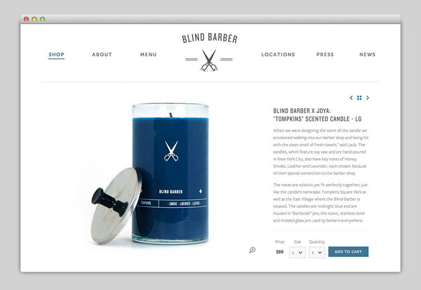 Websites We Love #barber #design #website #webdesign #layout #web