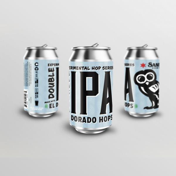 Sanitas Brewing Co. El Dorado Hops Double IPA