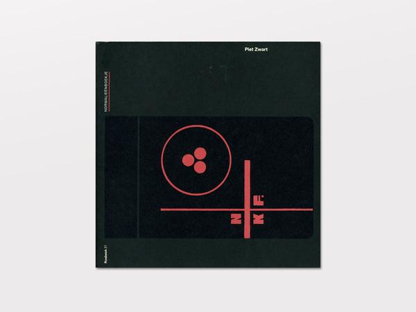 Piet Zwart Normalieenboekje #cover #zwart #book #piet