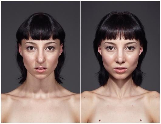 Symmeytrical Portraits : JULIAN WOLKENSTEIN #symmetry #photography #portrait