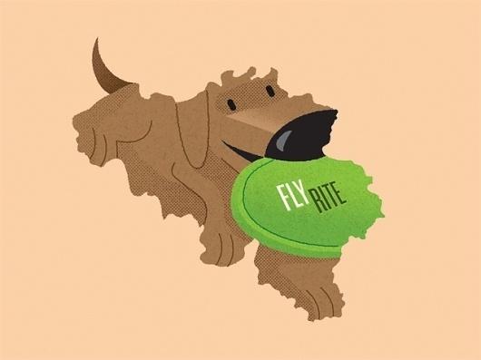 Frank Chimero #illustration #puppy #dog