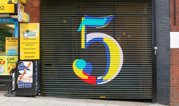 5 #hypekit #lettering #number