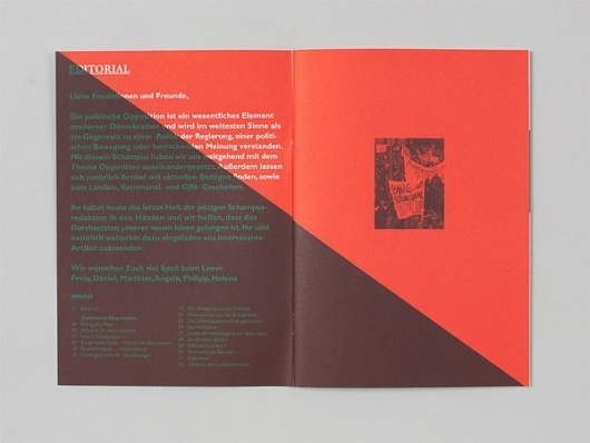 Visual Journal #overprint #print #brochure