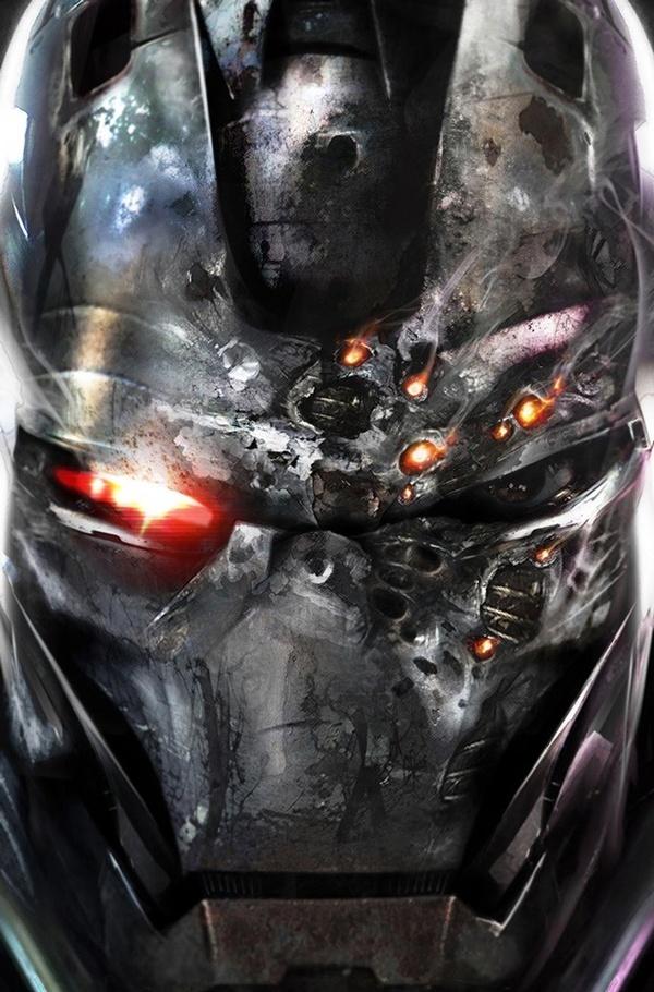 War Machine #6 by Francesco 'Matt' Mattina